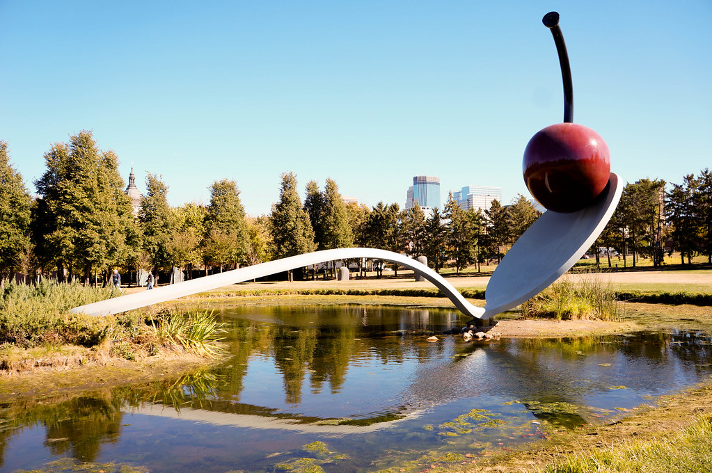 Meticulously Maintained, Peaceful, And Curious, The Minneapolis Sculpture  Garden Is One Of My Favorite Places In The City.