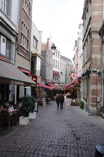 Brussels Restaurant Row