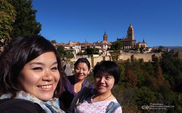 Hola Segovia~ 賽哥維亞。第一次看到建築奇蹟「羅馬水道橋」 R1044100