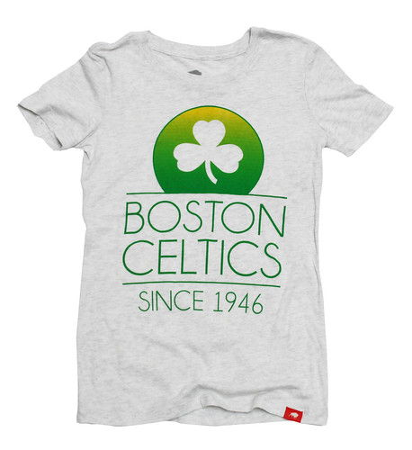 Boston Celtics Malibu T Shirt By Sportiqe