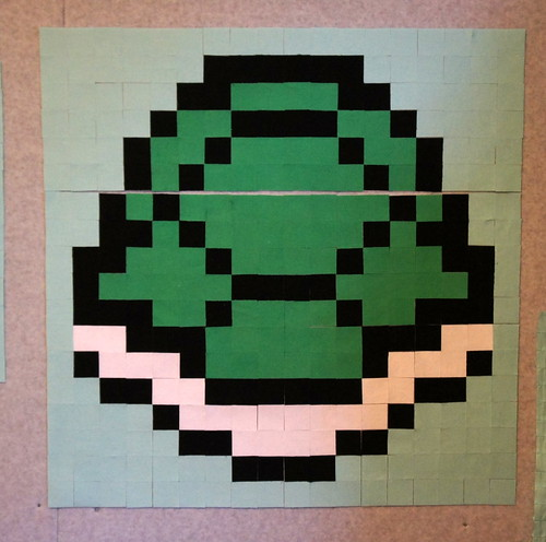Super Mario Bros QAL - Turtle Shell Block