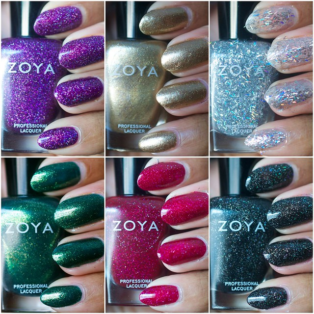 Zoya Ornate Holiday Winter Nail Polish Collection