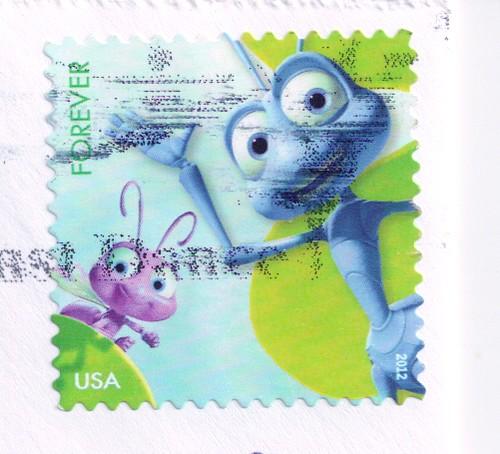 USA Disney Ants Stamp