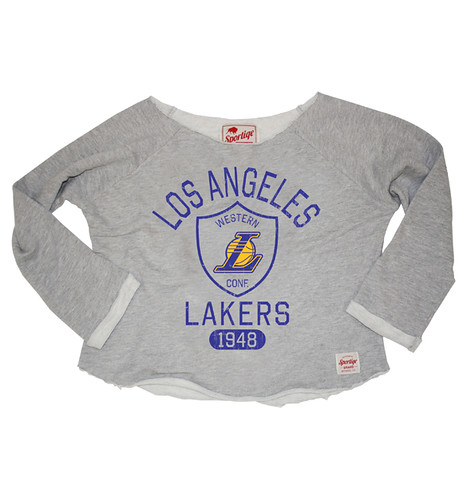 Los Angeles Lakers YOLO Andrews Sweatshirt By Sportiqe Apparel