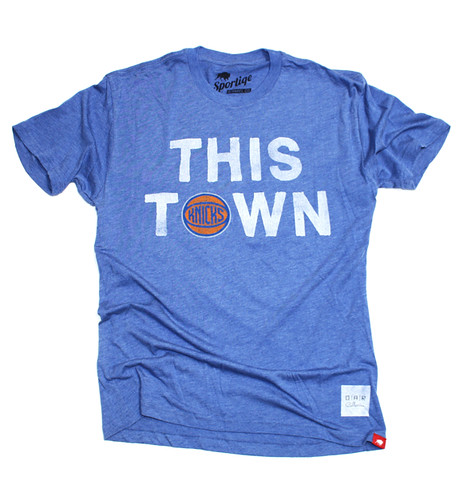 Knicks This Town Shirt By Sportiqe Apparel - OAR Collective
