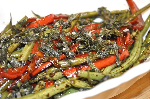 green beans with crispy sage 23