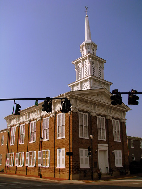 The Church with the Cannonball - Greeneville, TN