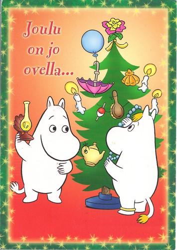 Merry Moomin Christmas