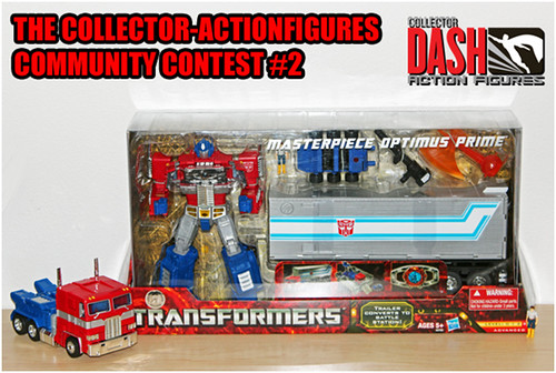 Optimus Prime Figure Giveaway