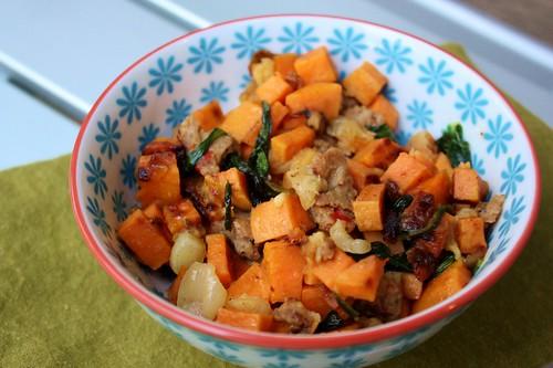 Carrots N Cake Sweet Potato Hash