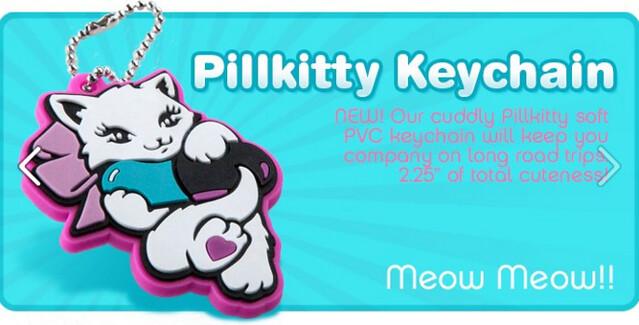 pillkitty keychain