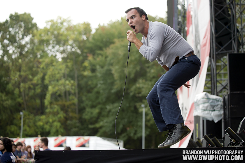 Future Islands @ Virgin Mobile FreeFest 2012