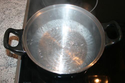 26 - Wasser zum kochen bringen / Cook water