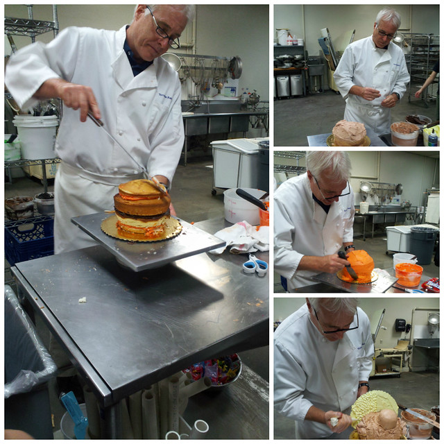 Kirk Rossberg (Owner - Torrance Bakery) - Cake Decorating Class - Torrance Bakery - El Camino College Extension
