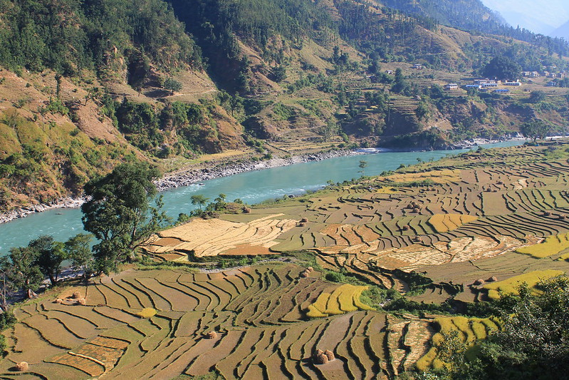 Terracing by the Karnali