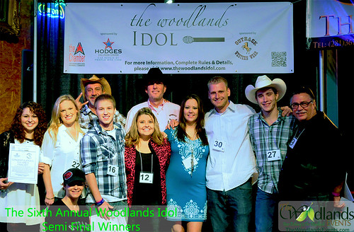 the woodlands idol second preliminary winners for 2013