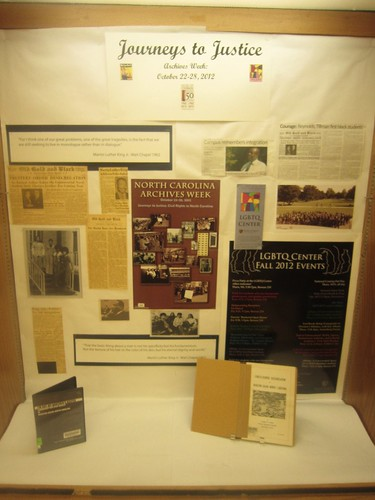 Archives Week Exhibit