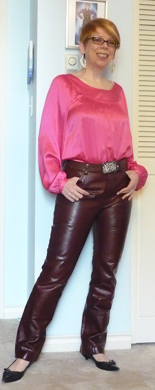 Creative Women In Leather Pants On Flickr Leather Pant And Boots By