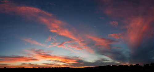 10-24-12 Sunset Panorama by kellydelay