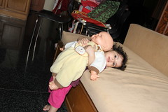 Two Friends .. Nerjis And Her Doll by firoze shakir photographerno1