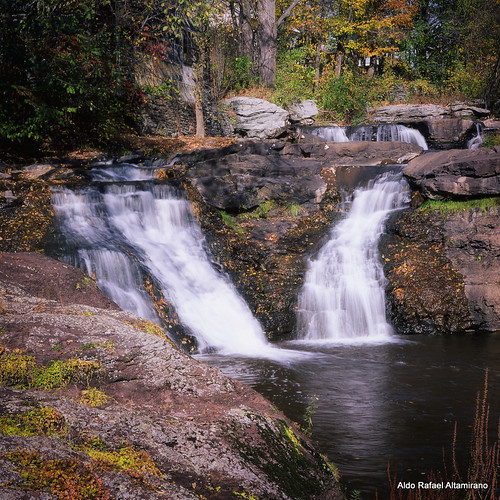 ny newyork color fall 6x6 tlr film nature water analog mediumformat landscape waterfall pennsylvania slide pa velvia epson medium format analogue 50 e6 coldspring 2012 honesdale fujivelvia50 realphotograph fujichromevelvia50 yashicamatem carleybrookfalls epsonv600 epsonperfectionv600