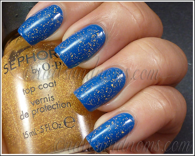 Sephora It's Real and Barry M Cobalt Blue 5