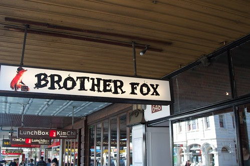 Brother Fox Sign