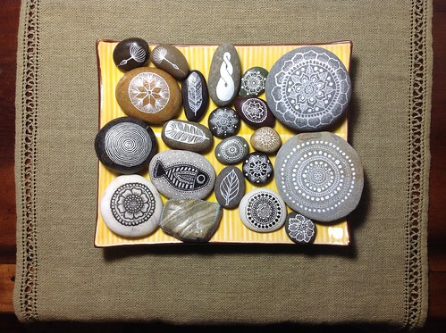 Pebble Art by MagaMerlina