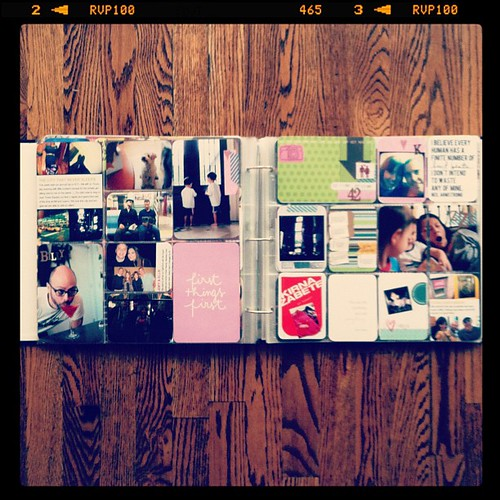 #projectlife week 42 full spread