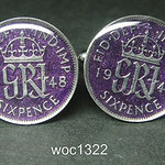 woc1322 Great British coin cufflinks