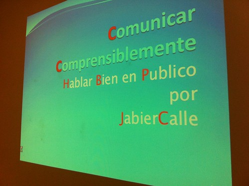 CURSO COMUNICAR COMPRENSIBLEMENTE por Jabier Calle by LaVisitaComunicacion