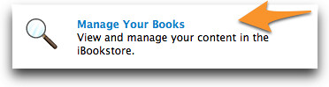 Manage your books