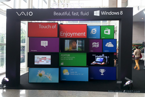 Sony VAIO 2012 Windows 8 Line Up