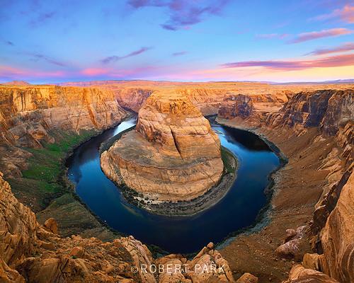 """""""Horseshoe Bend"""" By  Robert Park  http://www.robert-park.com by Robert Park Photography"""