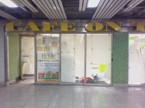 Cafe on the Go, gone