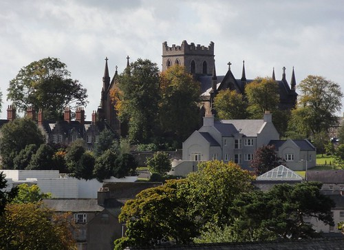 St Patrick's Cathedral Armagh from a Distance