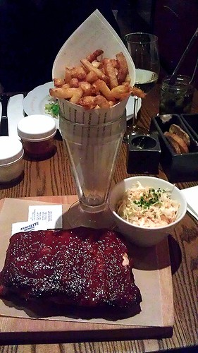 Pork Ribs and Fries