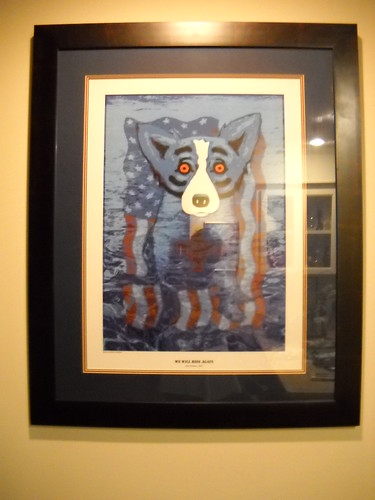 Rodrigue's Blue Dog by Janis Gore
