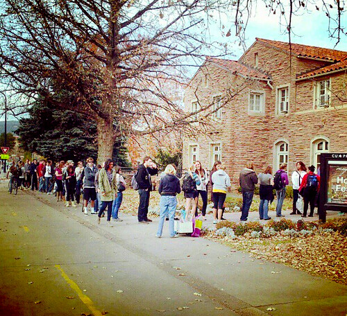Early Voting at CU-Boulder