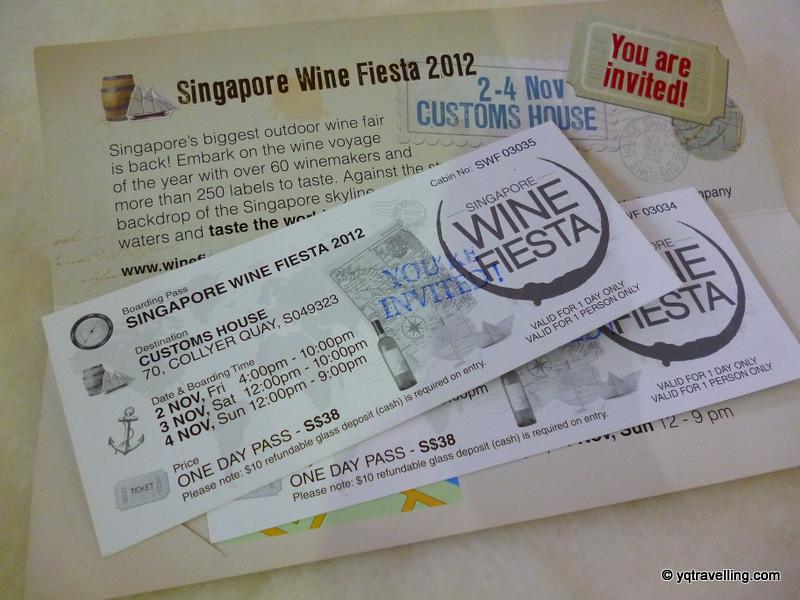 Singapore Wine Fiesta tix