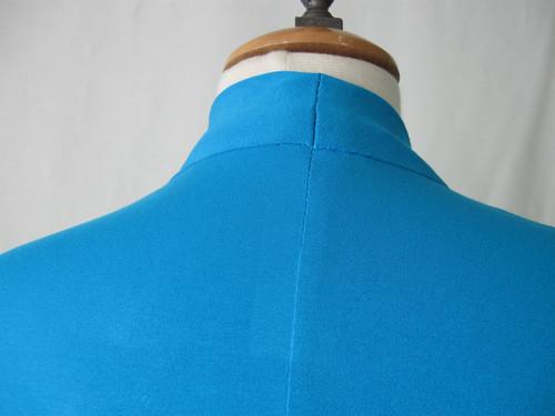 Aqua knit back seam
