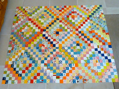 30 blocks done by small quilts