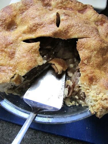 Martha Stewart's Brandy Apple Pie