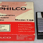 Vintage Philco 6-Transistor Radio, Model T-68BK-G, Made in Japan