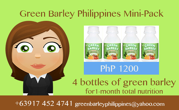 green barley total nutrition
