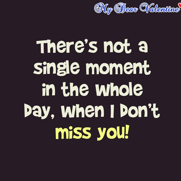 I Miss You Boyfriend Quotes Love Quotes: Ho...