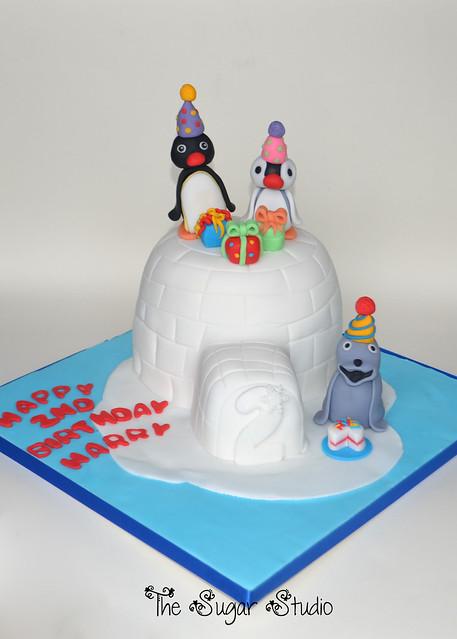 Pingu Cake Topper