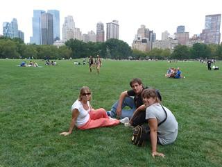Foto en Central Park, Nueva York