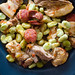 Broad beans with pork | Favas