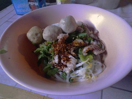 Dry Thai Noodles
